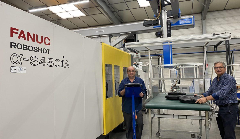 ADP 85 se dote de la première presse à injecter de 500 tonnes 100% électrique du Grand Ouest